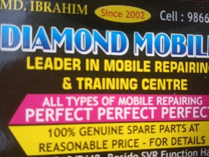 DIAMOND MOBILES LEADER IN MOBILE REPAIRING AND TRAINING CENTRE
