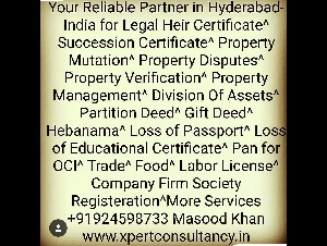 Extending Legal n Value Added Services to Hyderabadis!