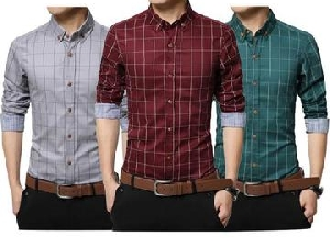 Stock Clearance on Top US Brand 3 Branded Shirts At Rs.999